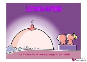 la lactancia materna protege al bebé
