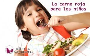 beneficios de la carne roja para los niños