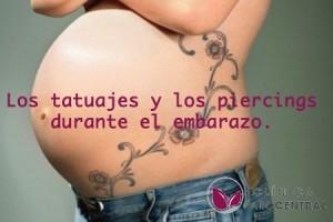 tatuajes y piercings durante el embarazo