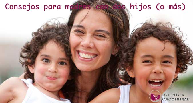 madres con dos hijos