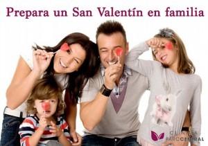 San Valentín en familia