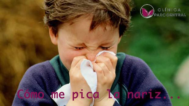 alergias de los niños