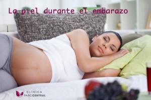 manchas en la piel durante el embarazo
